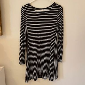 Old navy striped swing dress